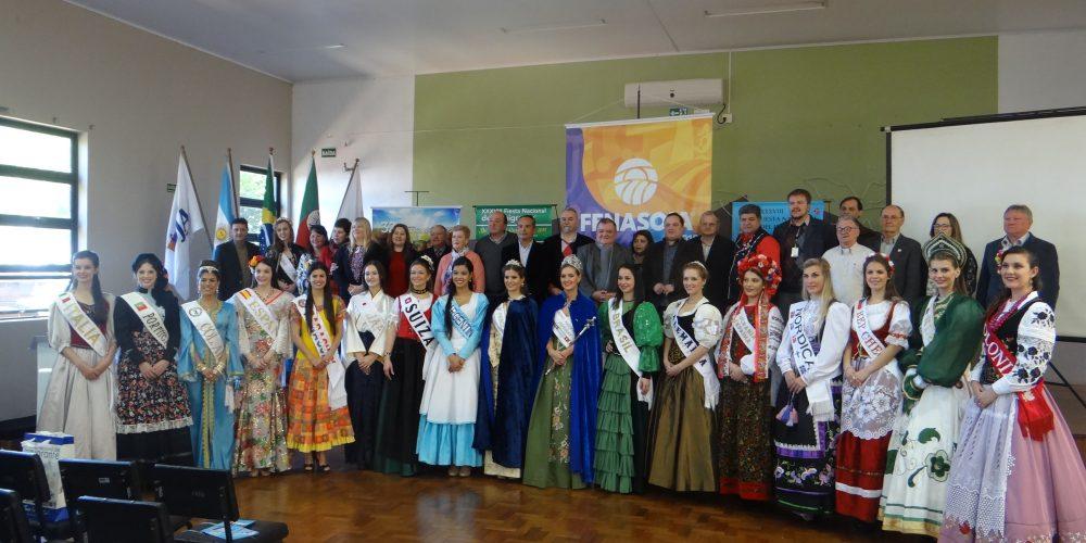 Hortigranjeiros Participa Do Lançamento Da 38° Fiesta Nacional Del Inmigrante