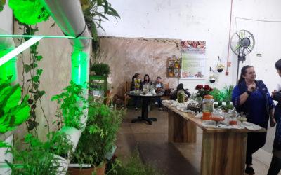 Espaço de Plantas Bioativas chama a atenção no Pavilhão 12
