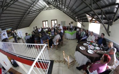Presidentes das edições do Hortigranjeiros reúnem-se em almoço celebrativo
